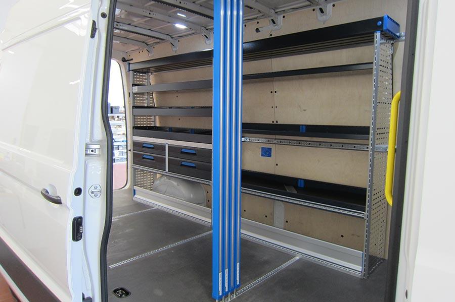 Nutzfahrzeug Fahrzeugeinrichtung - Gruber Fahrzeugbau GmbH