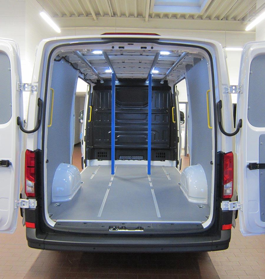 Fahrzeugeinrichtung Ladungssicherung - Gruber Fahrzeugbau GmbH
